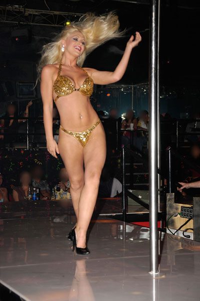 Miss Nude World Performer of the Year 2006. Miss Nude Blonde Universe 2006